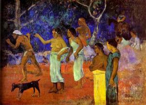 Paul Gauguin - Scenes from Tahitian Life