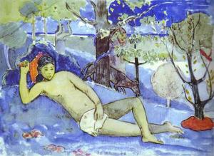 Paul Gauguin - Te Arii Vahine (Queen)