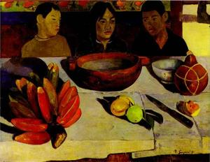 Paul Gauguin - The Meal (The Bananas)
