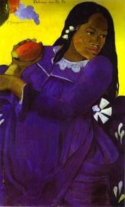 Paul Gauguin - Vahine no te vi (Woman with a Mango)