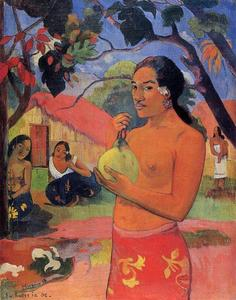Paul Gauguin - Woman Holding a Fruit