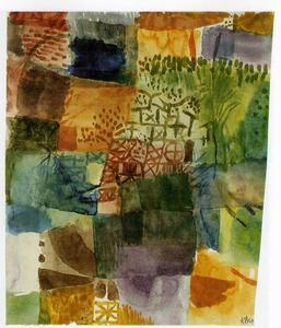 Paul Klee - Remembrance of a Garden