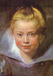 Peter Paul Rubens - Head of a Girl