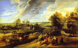 Peter Paul Rubens - Return of the Peasants from the Fields