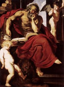 Peter Paul Rubens - St. Jerome in His Hermitage