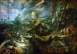 Peter Paul Rubens - Stormy Landscape with Philemon and Baucis