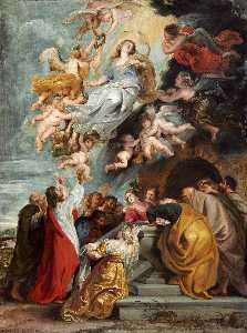 Peter Paul Rubens - The Assumption of the Virgin