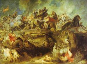 Peter Paul Rubens - The Battle of the Amazons