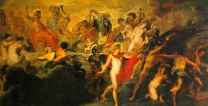 Peter Paul Rubens - The Council of the Gods