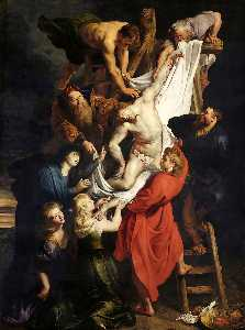 Peter Paul Rubens - The Descent from the Cross (central part of the triptych)
