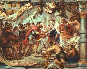 Peter Paul Rubens - The Meeting of Abraham and Melchizedek