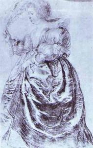 Peter Paul Rubens - Young Woman with an Ostrich Plum
