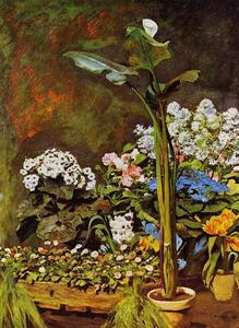 Pierre-Auguste Renoir - Arum and Conservatory Plants