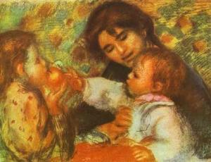 Pierre-Auguste Renoir - Gabrielle with Renoir-s Children