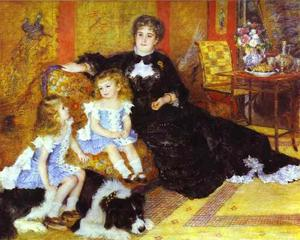 Pierre-Auguste Renoir - Madame Charpentier with Her Children