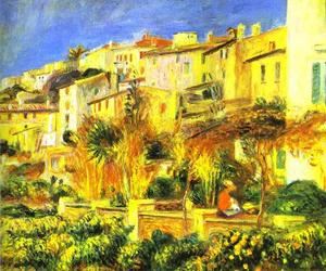 Pierre-Auguste Renoir - Terrace at Cagnes