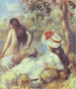 Pierre-Auguste Renoir - The Bathing