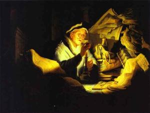 Rembrandt Van Rijn - Parable of the Rich Man