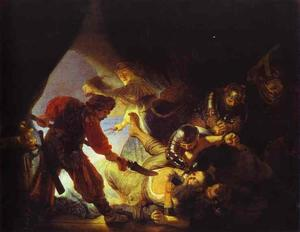 Rembrandt Van Rijn - The Blinding of Samson