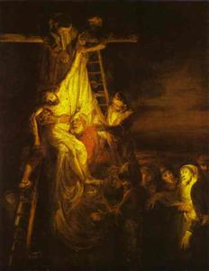 Rembrandt Van Rijn - The Descent from the Cross