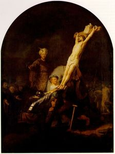 Rembrandt Van Rijn - The raising of the cross [c. 1633]