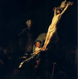 Rembrandt Van Rijn - L Erection De La Croix, munich