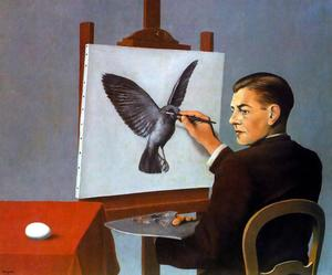 Rene Magritte - Clairvoyance