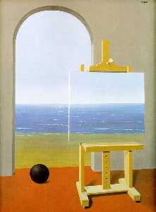 Rene Magritte - The Human Condition - (Buy fine Art Reproductions)