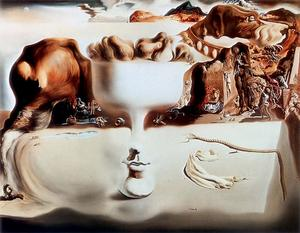 Salvador Dali - Apparition Of Face And Vase On The Beach