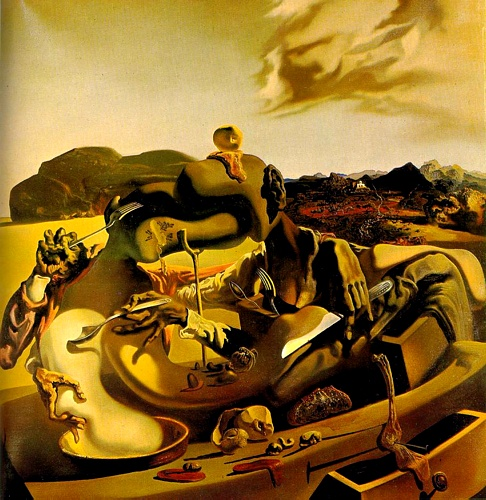 Autumn Cannibalism, 1936 by Salvador Dali (1904-1989, Spain) | Painting Copy | WahooArt.com