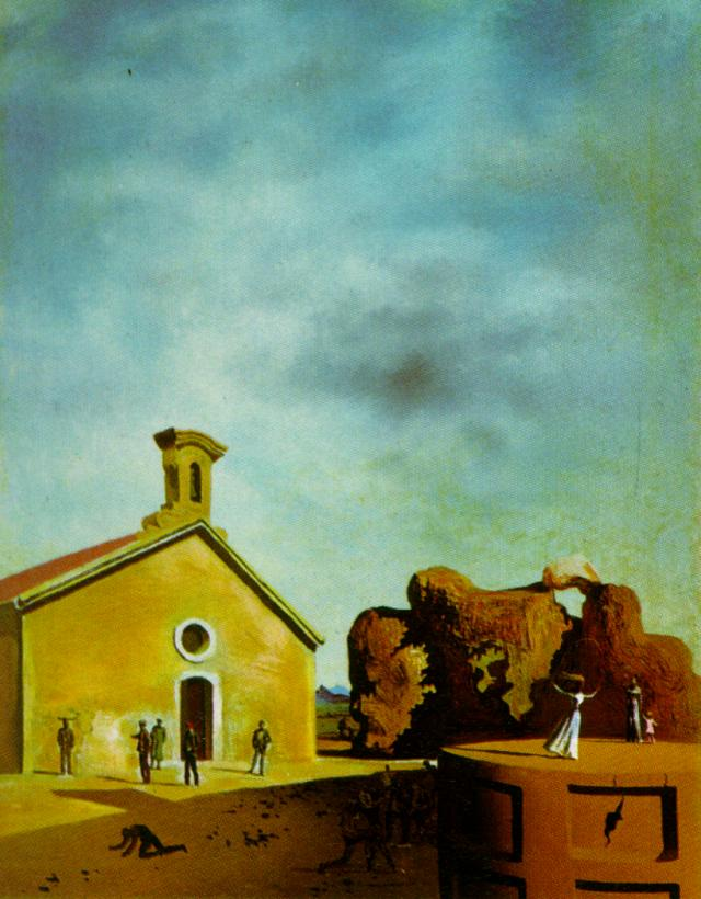 Bread on the Head of the Prodigal Son, Oil On Canvas by Salvador Dali (1904-1989, Spain)