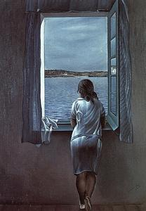 Salvador Dali - Figure At Window
