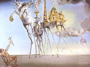 Salvador Dali - Temptation of Saint Anthony