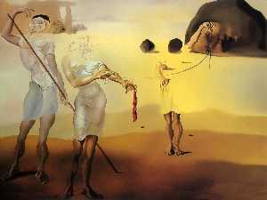 Salvador Dali - The Enchanted Beach