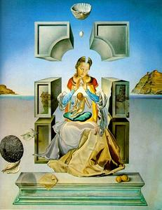 Salvador Dali - The Madonna of Port Lligat (first version)