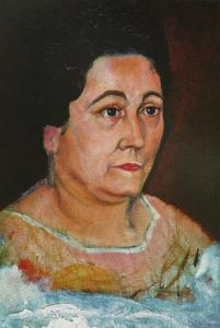 Salvador Dali - Portrait of the Artist's Mother, Dofia Felipa Dome Domenech De, DalH, 1920