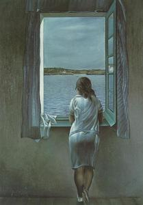 Salvador Dali - Figure at a Window, 1925