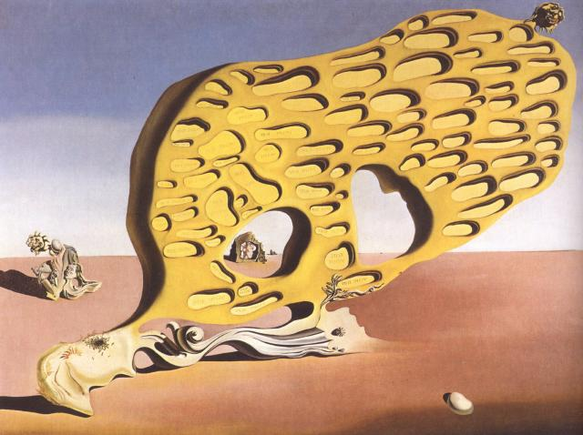 The Enigma of Desire, My Mother, 1929, Oil by Salvador Dali (1904-1989, Spain)