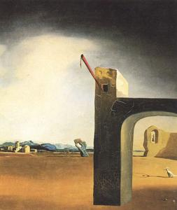 Salvador Dali - -Morphological Echo-, circa 1936