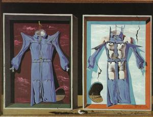 Salvador Dali - Night and Day Clothes, 1936