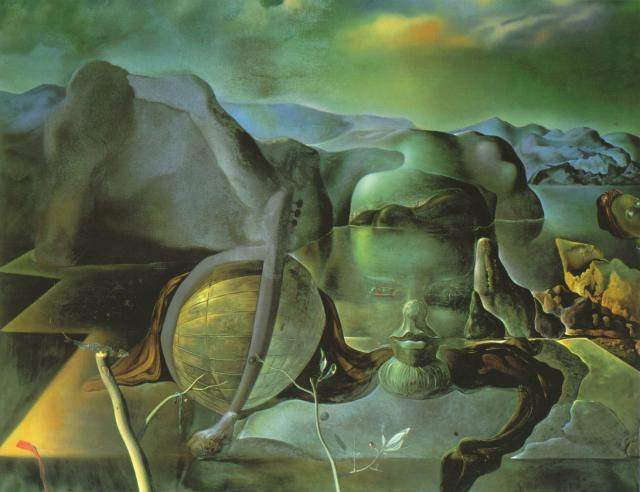 The Endless Enigma, 1938, Oil by Salvador Dali (1938-1989, Spain)