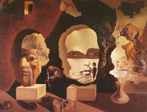 Salvador Dali - Old Age, Adolescence, Infancy (The Three Ages), 1940