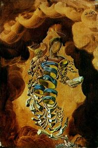 Salvador Dali - Madonna in Particles, 1952