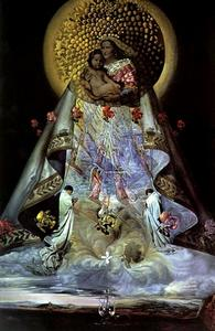 Salvador Dali - The Virgin of Guadalupe, 1959