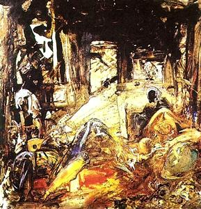 Salvador Dali - Mohammed's Dream (Homage to Fortuny), 1961