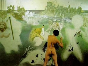 Tuna Fishing, 1967, Oil by Salvador Dali (1904-1989, Spain)