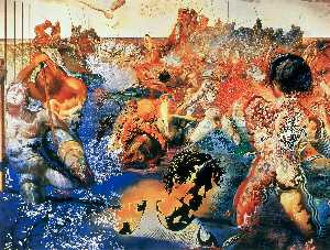 Salvador Dali - Tuna Fishing, 1967 - (Famous paintings)
