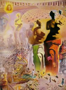 Salvador Dali - The Hallucinogenic Toreador, 1968-70