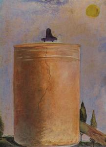 Salvador Dali - Tower, 1981