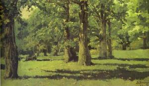 Victor Vasnetsov - The Oak Grove at Abramtsevo
